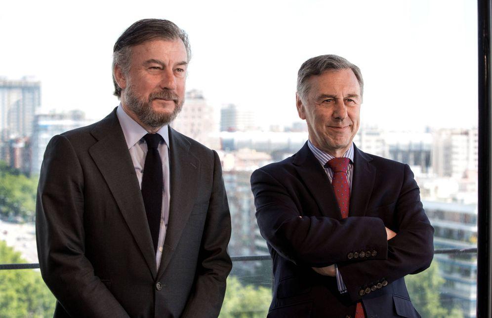 Foto: Rafael Merry del Val y Stephen Newman, co-consejeros delegados de Savills-Aguirre Newman.