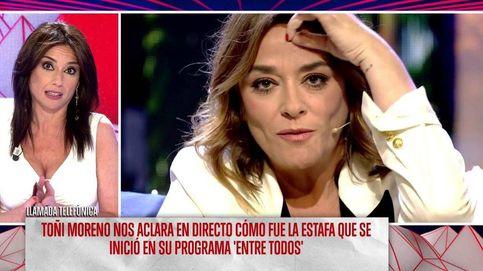 Toñi Moreno, sobre la presunta estafadora: Esa conexión era verdad