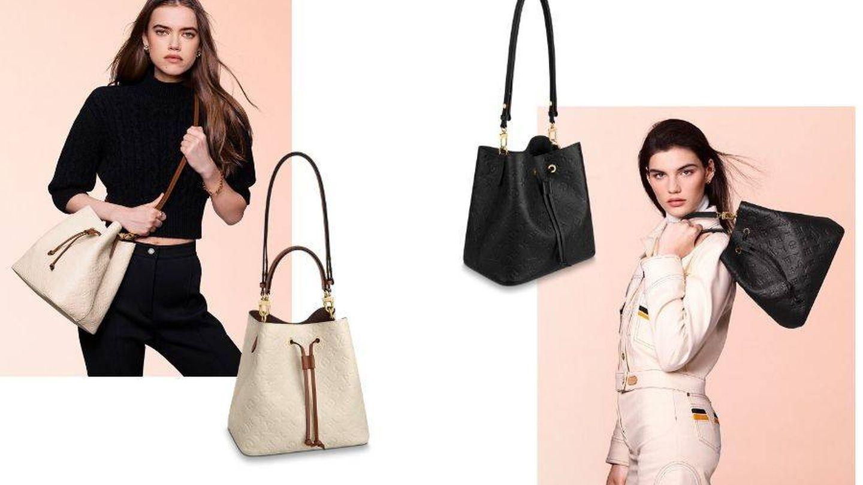 Dos de los nuevos bolsos de Vuitton. (Cortesía)