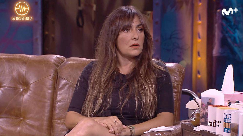 Foto: Candela Peña, en 'La resistencia'. (YouTube)