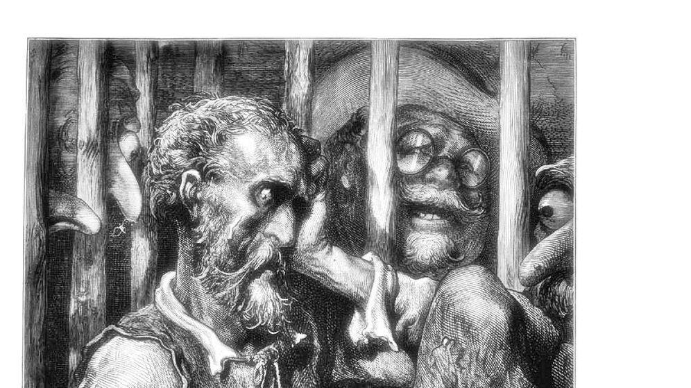 Foto: Don Quijote llora el advenimiento del neoespañol