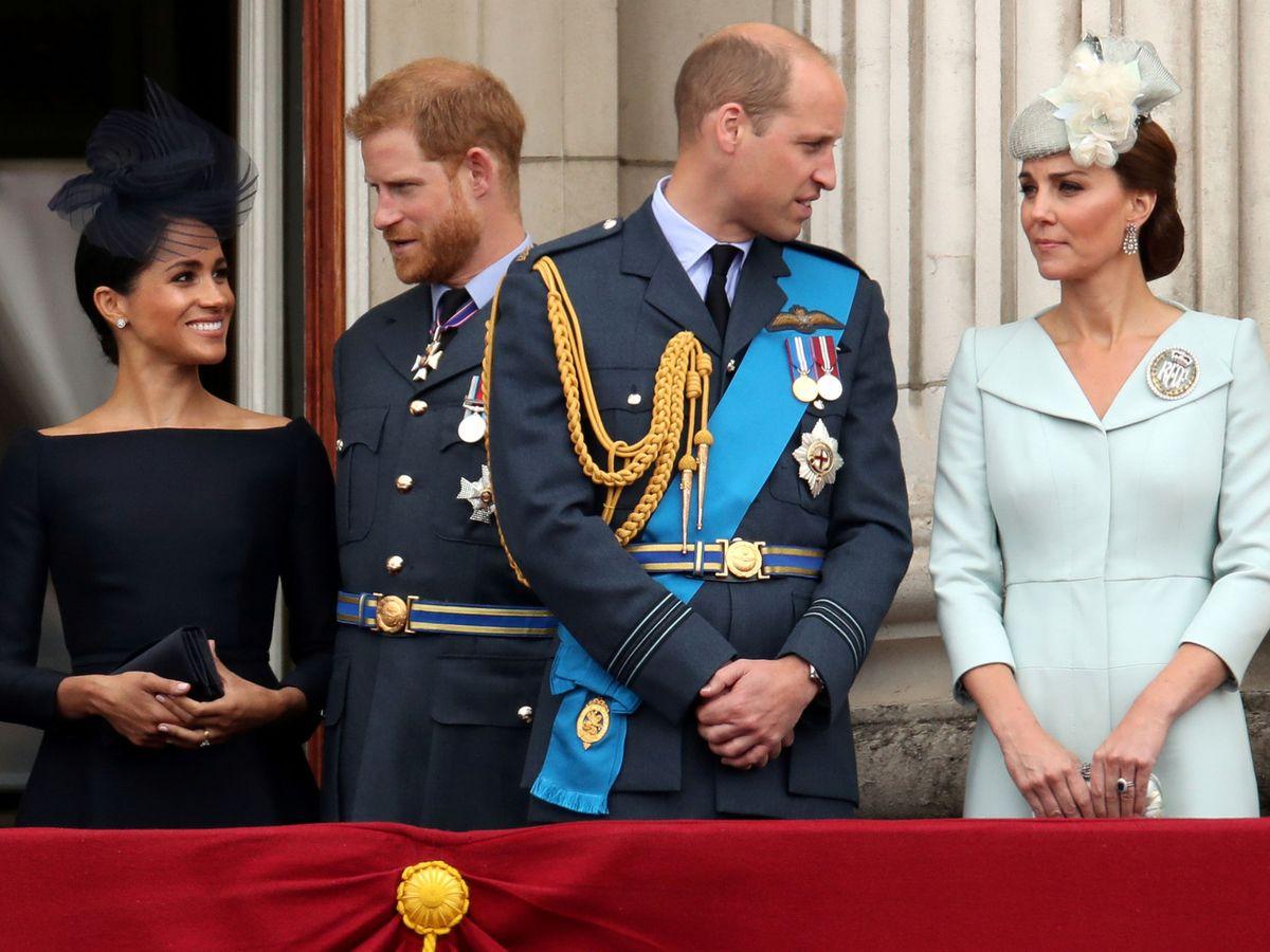 Foto: Los Sussex y los Cambridge, en una imagen de archivo. (Reuters)