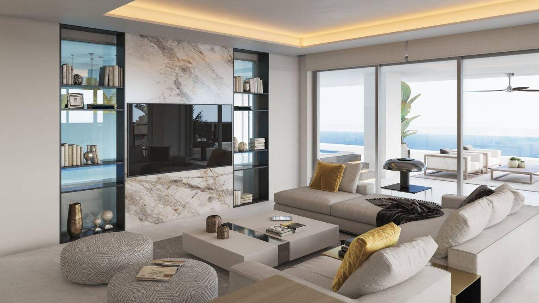 Imagen de la futura vivienda de Sierra Blanca Towers vendida por 3,2 millones.