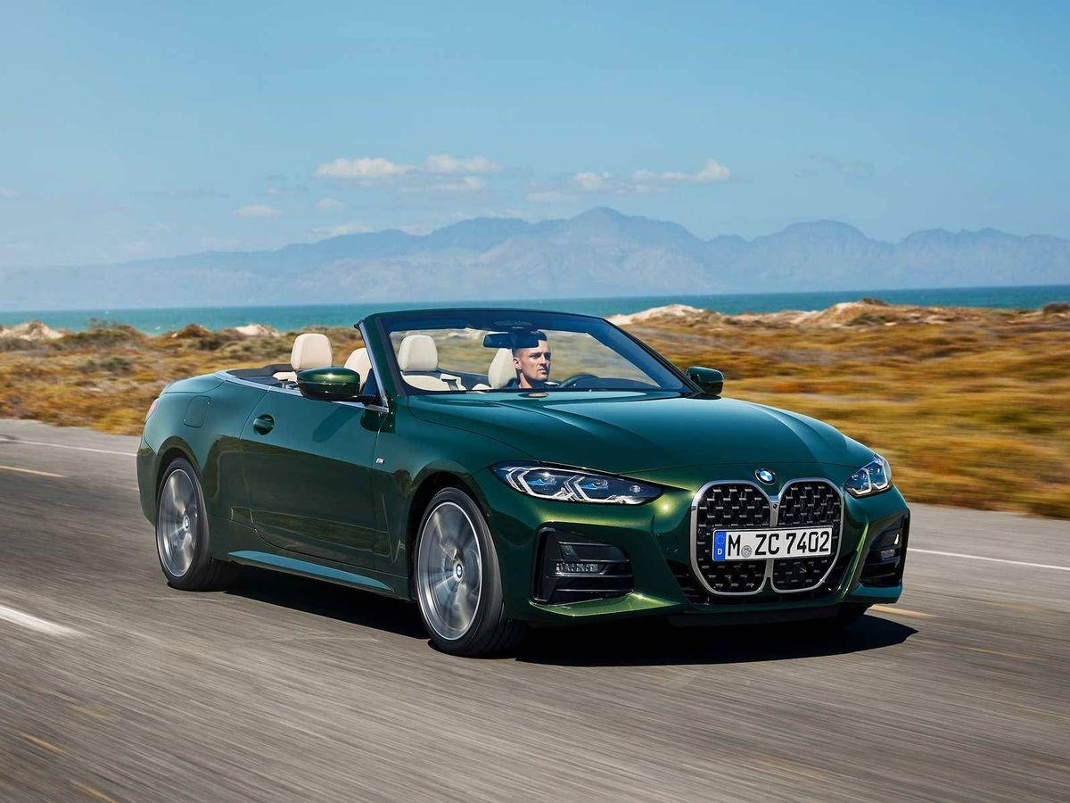 Foto: BMW Serie 4 Cabrio, un coche para disfrutar de la conducción y también de la naturaleza con el techo abierto.