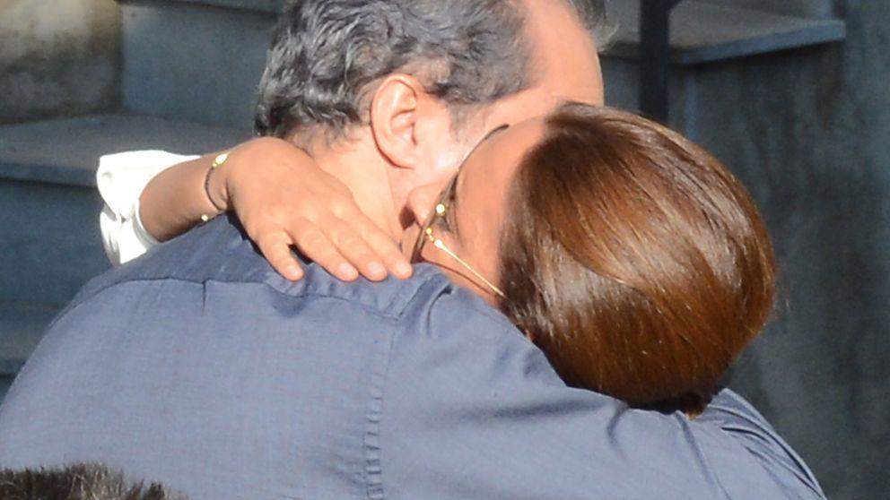 Lydia Bosch da el último adiós a su padre arropada por Ramón García