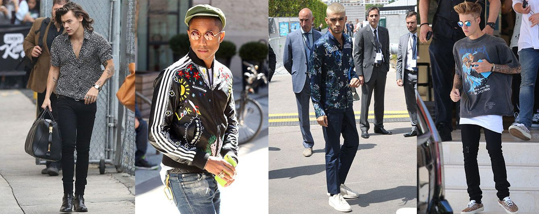 Foto: Zayn Malik, Justin Bieber y otros cantantes que han hecho de la moda su mejor arma