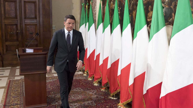 Foto: El primer ministro italiano Matteo Renzi en Roma. (Reuters)