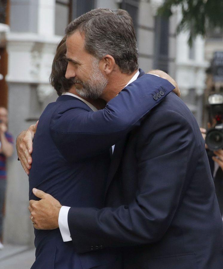 Familia Real Española: El Rey Felipe VI preside el funeral de Marco ...