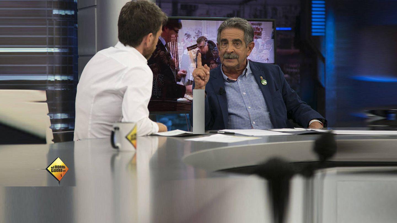 Miguel Ángel Revilla en 'El hormiguero'. (Atresmedia)