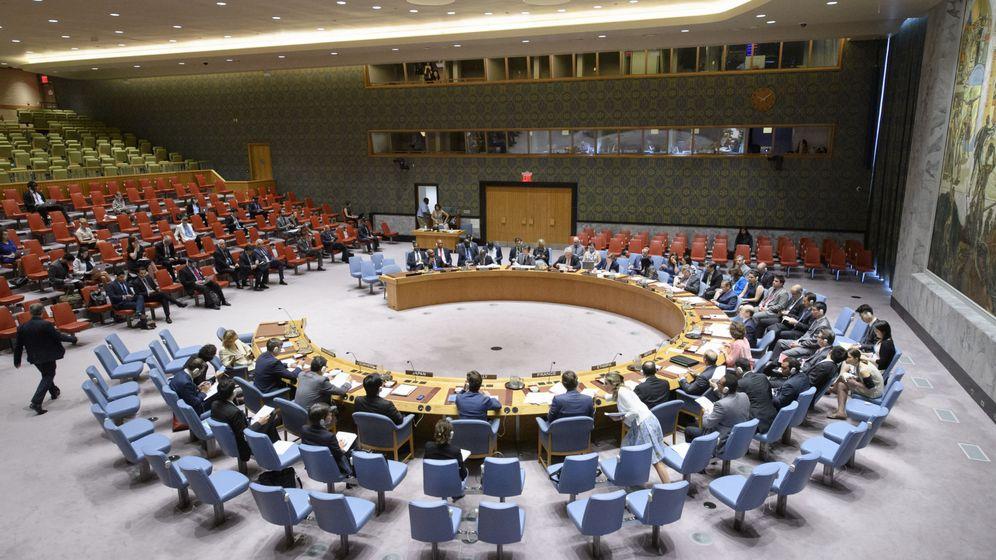 Foto: Vista general de una reunión del Consejo de Seguridad de la ONU. (EFE)