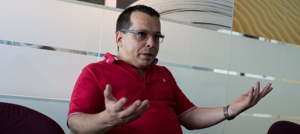 Foto: Ricardo Galli, fundador de Menéame (Pablo López Learte)