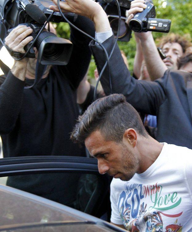 Foto: Rubén Castro saliendo del juzgado (Paco Puentes/EFE).
