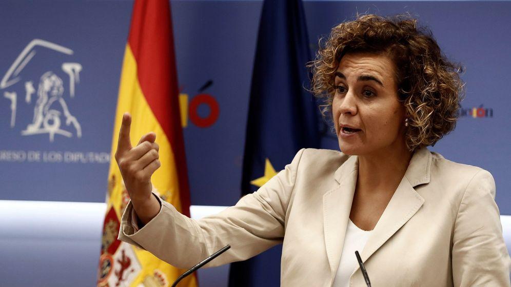 Foto: Dolors Montserrat es la cabeza de lista del PP para las elecciones europeas. (EFE)
