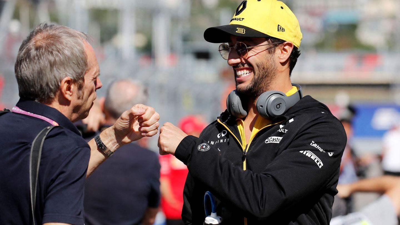 Ricciardo no pierde la sonrisa. (EFE)