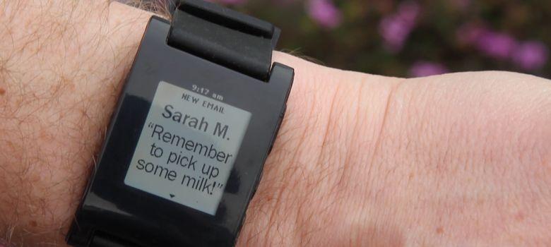 Foto: Pebble, un reloj amateur que sonroja a Sony y Samsung