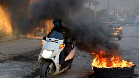 Protesta antigubernamental en Beirut y protestas en Davos: el día en fotos