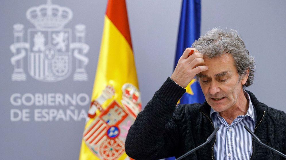 Foto: Fernando Simón, coordinador del consejo científico (EFE)