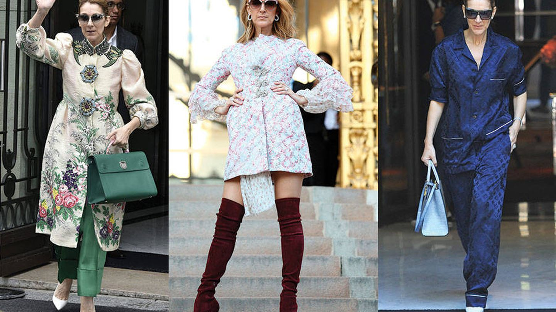 Del pijama de Louis Vuitton al look beis y verde de Gucci, sin dejarnos el abrigo-vestido de Giambattista Valli.