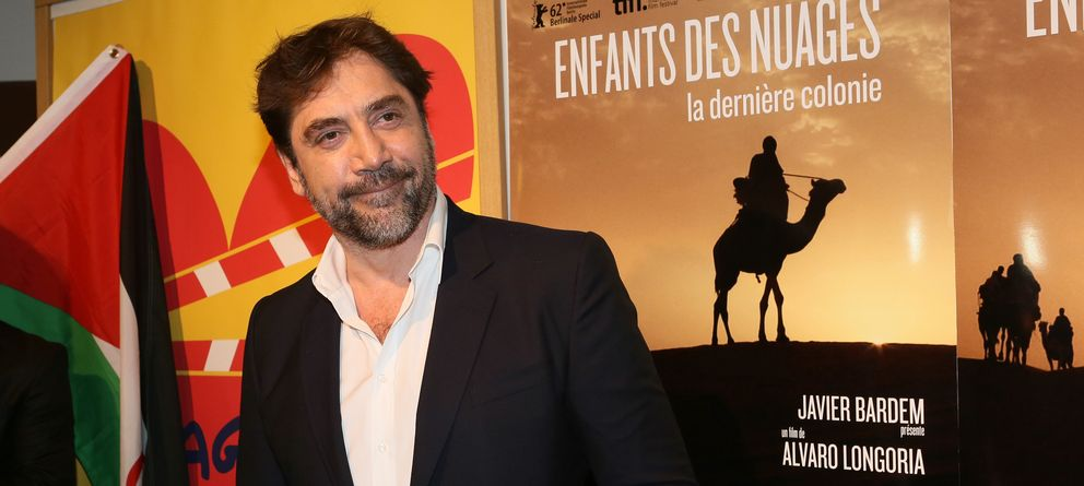 Foto: Javier Bardem en la presentación de su documental (I.C.)