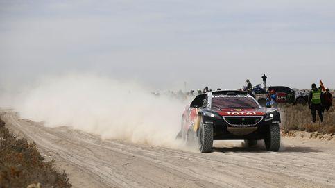 Victoria de Sainz en una etapa marcada por la muerte de un espectador
