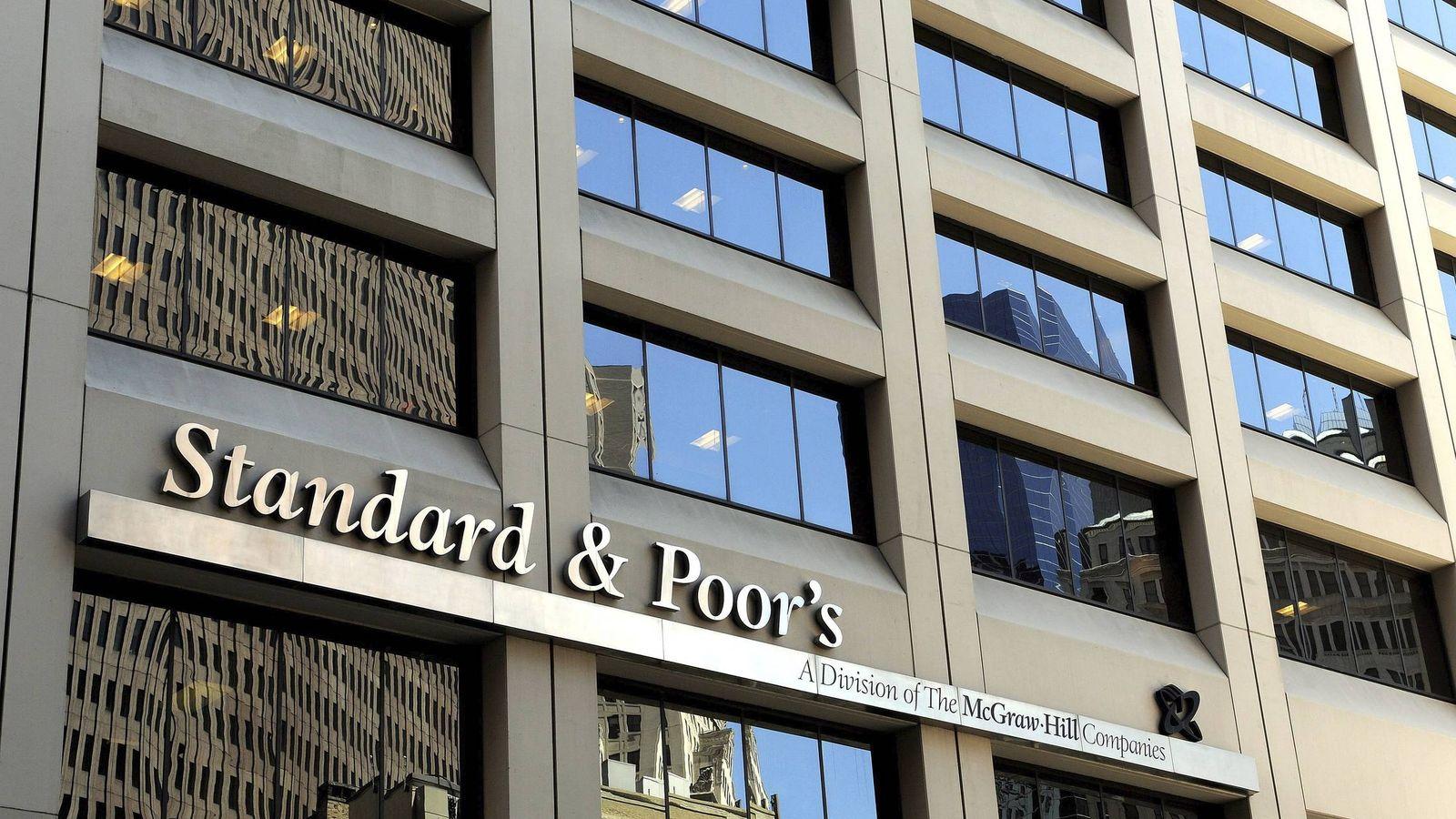 Foto: Imagen de una de las oficinas de la agencia de rating Standard & Poors (EFE)