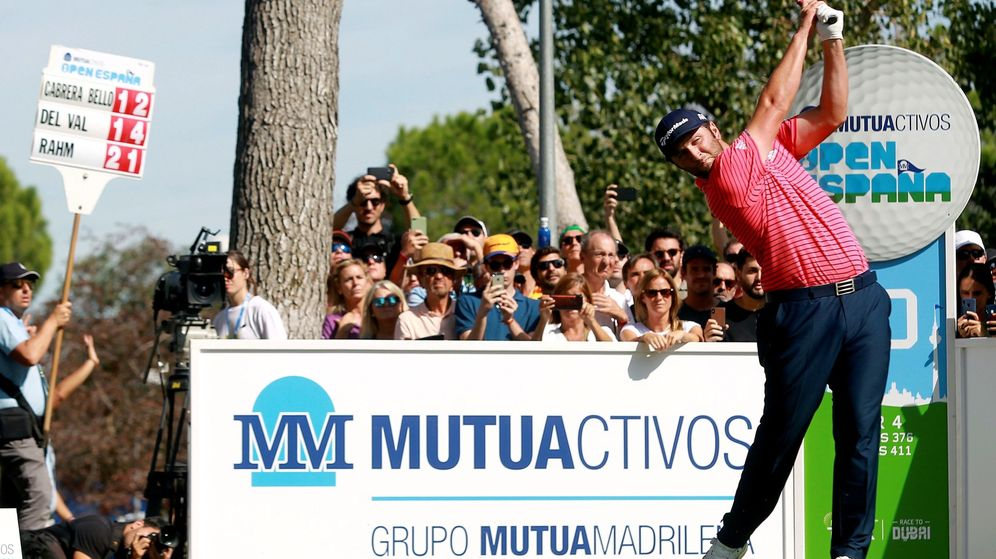 Foto: Jon Rahm en el Open de España. (EFE)