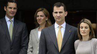 La infanta Cristina se enroca y aplaza la renuncia a sus derechos sucesorios
