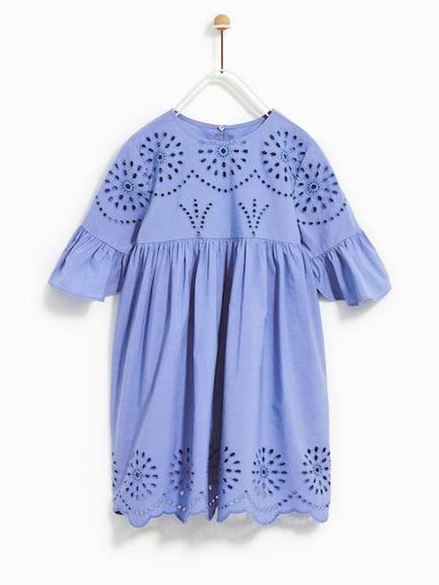 El vestido de Zara de Leonor.