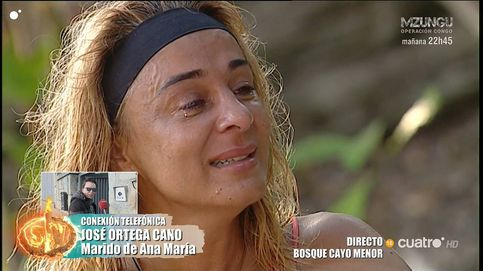 La presión de José Ortega Cano a Ana María Aldón con Rocío Flores en 'Supervivientes 2020'