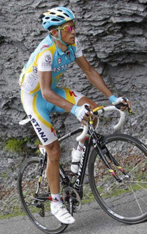 Andy Schleck es el nuevo líder del Tour por delante de Contador
