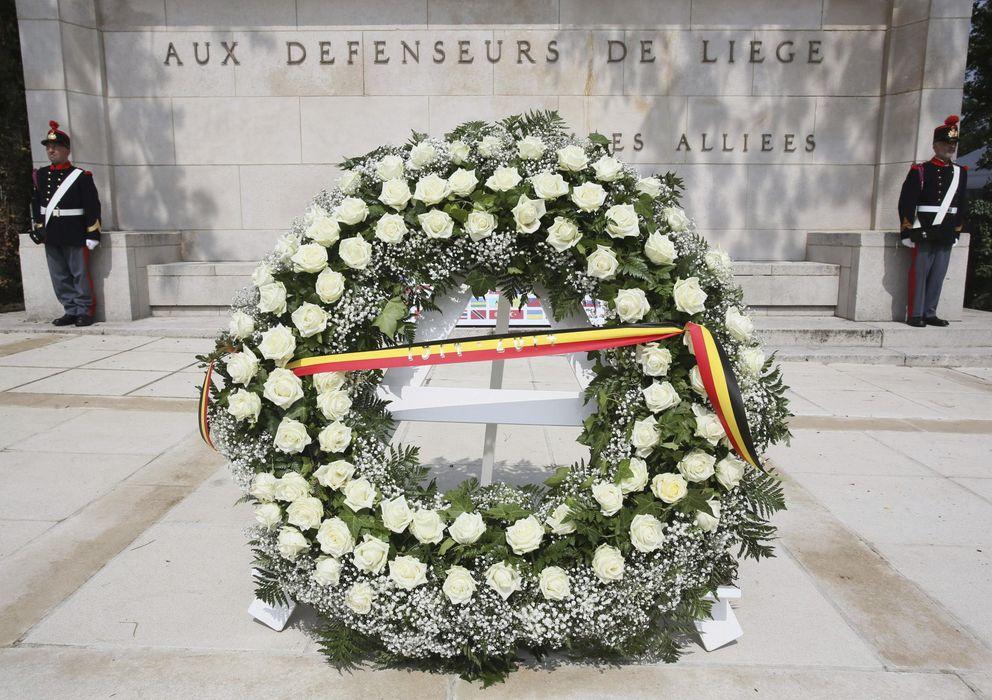Foto: Actos de conmemoración del centenario de la Primera Guerra Mundial. (Efe)