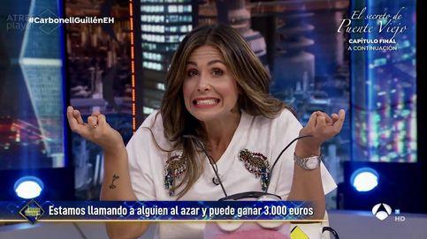 Nuria Roca hace historia en 'El hormiguero' con la tarjeta de los 3.000€
