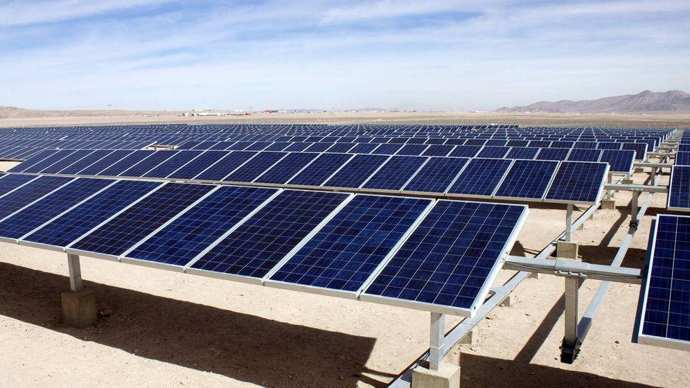 Foto: Una planta de Solarpack de energía solar en Chile. (EFE)