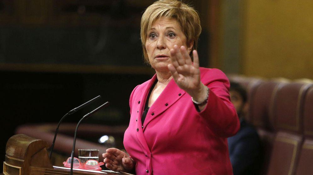 Foto: La vicepresidenta primera del Congreso, Celia Villalobos. (EFE)