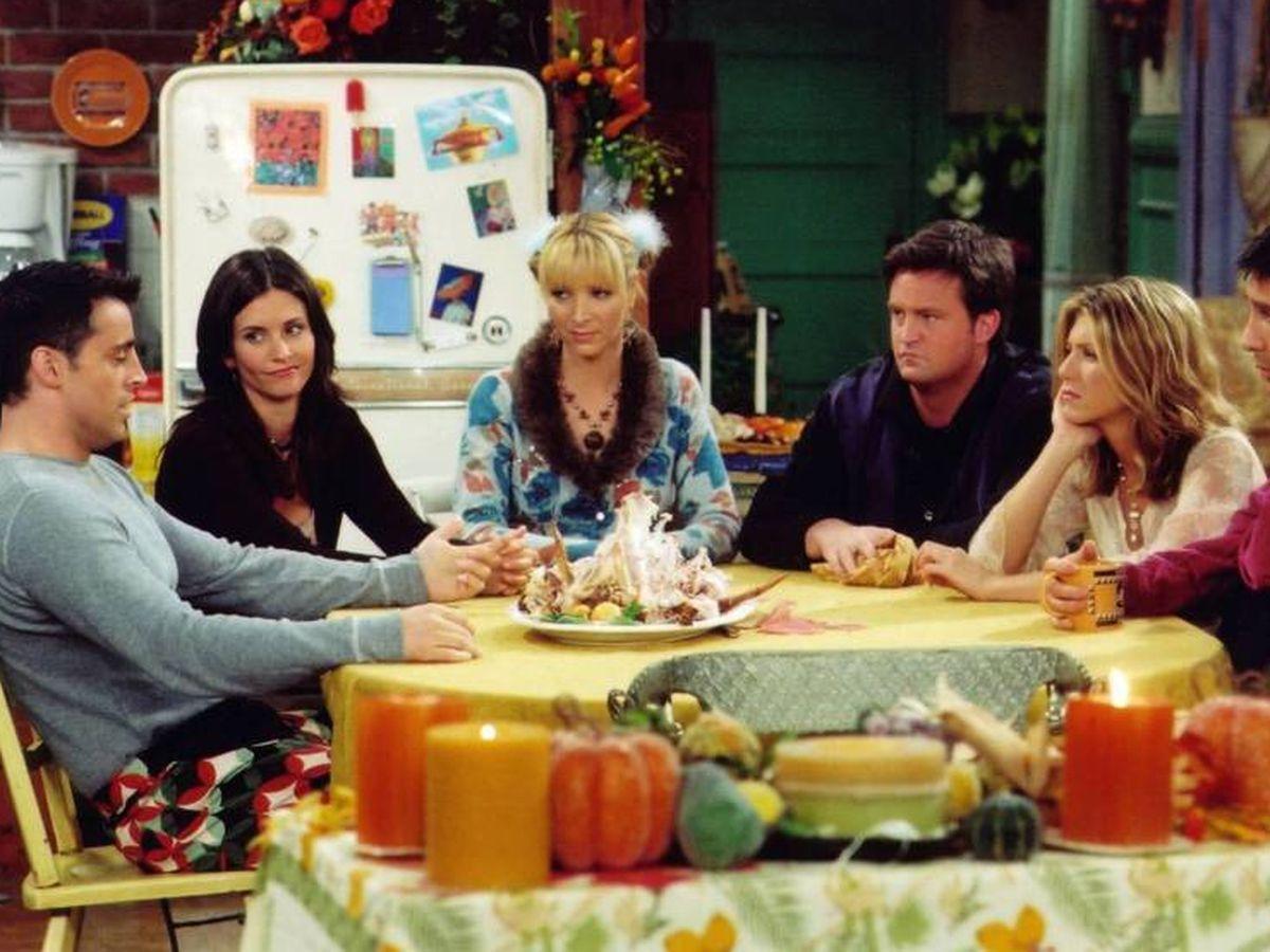 Foto: Fotograma de la serie de television 'Friends'. (Cordon Press)