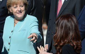 Angela Merkel, ni femenina ni feminista
