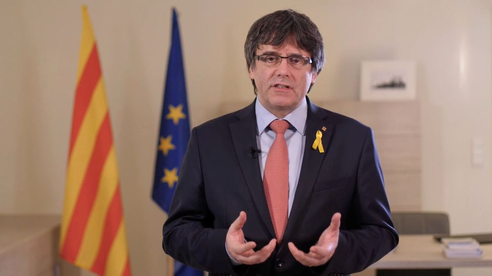 Foto: El expresidente catalán, Carles Puigdemont. (Reuters)