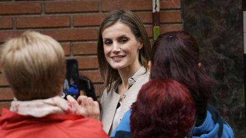 La Reina Letizia y su look de estreno más otoñal firmado por Hugo Boss