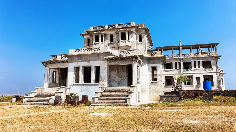 hotel Bokor Palace en un lugar fantasma.