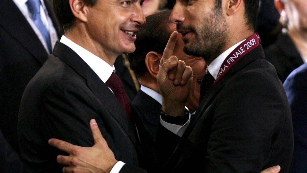 Las charlas de Guardiola y Zapatero en un documental que nunca verá la luz