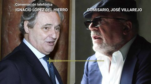 López del Hierro quiere ser discreto: ¿Le has comentado a Cotino que tú y yo hablamos?