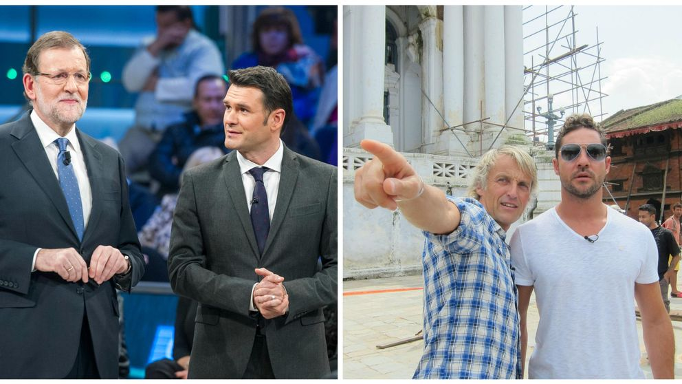 Mariano Rajoy y David Bisbal disparan los audímetros este fin de semana