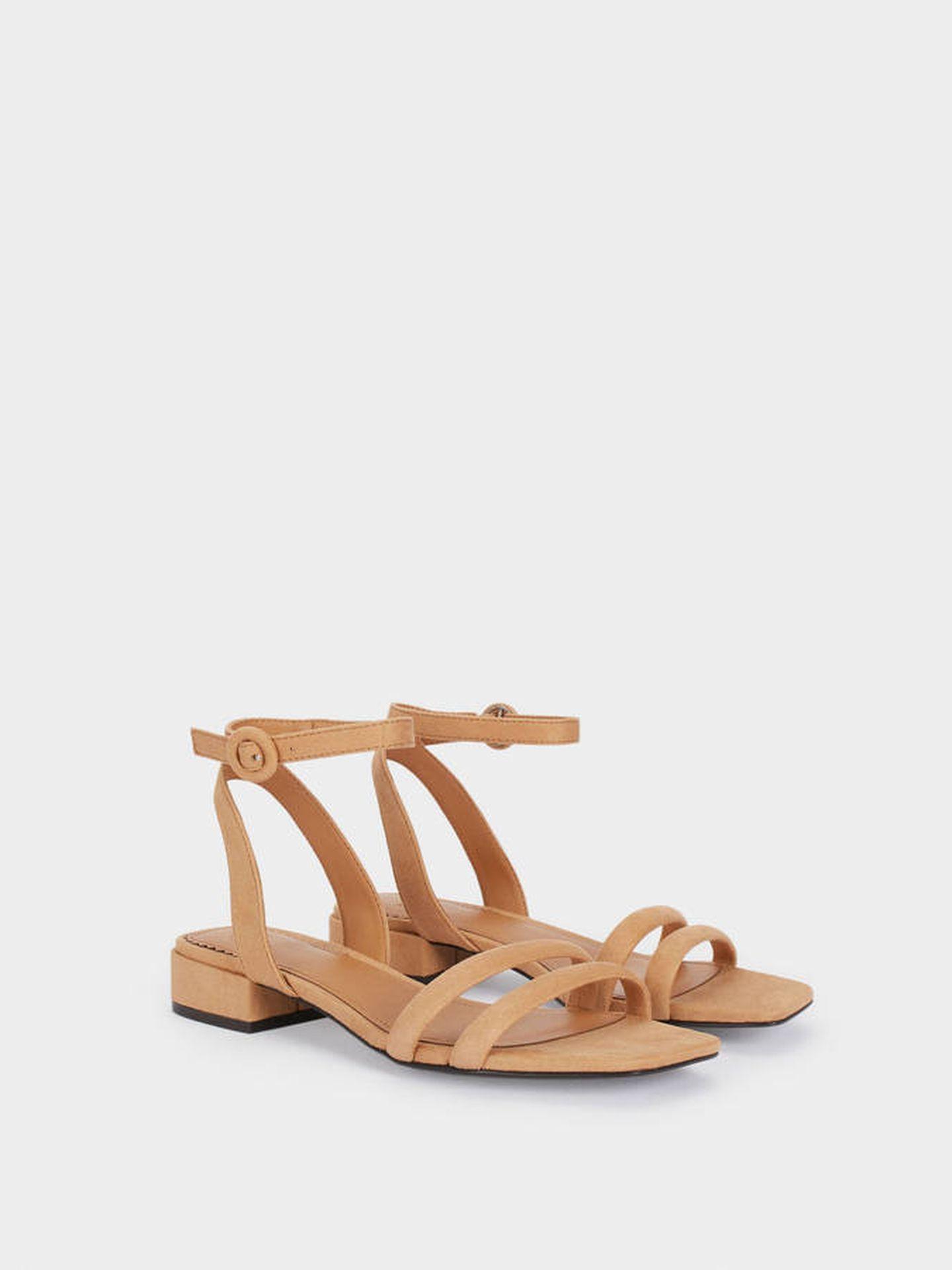 Sandalias low cost de Parfois. (Cortesía)