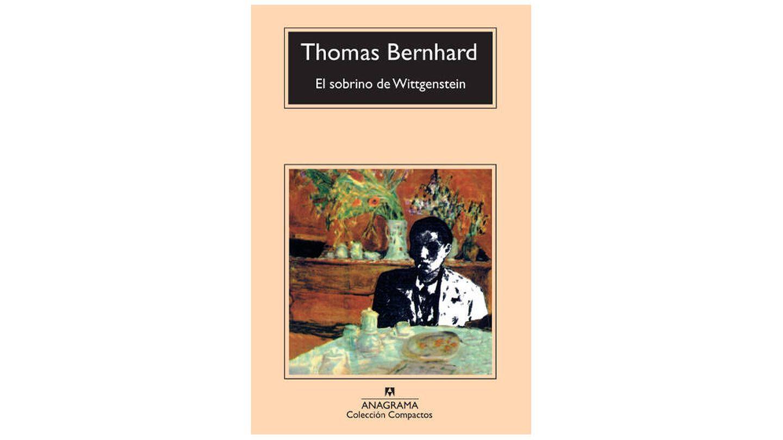 Portada de 'El sobrino de Wittgenstein', de Thomas Bernhard (Anagrama).