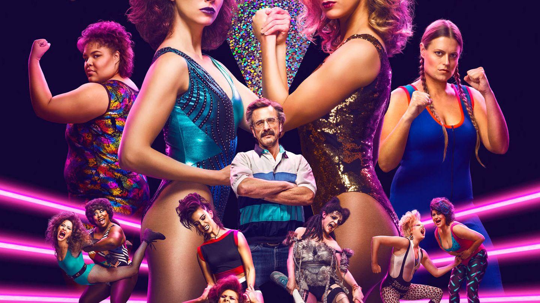 Imagen promocional de la serie 'Glow'. (Netflix)