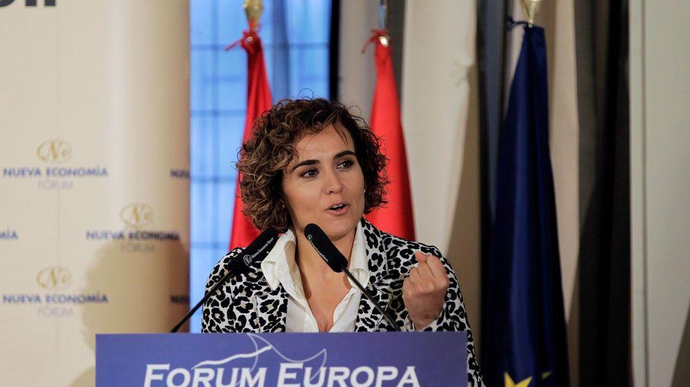 Foto: La cabeza de lista del Partido Popular para las elecciones europeas, Dolors Monserrat (Efe)