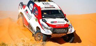 Post de Las buenas sensaciones de Fernando Alonso en su mejor etapa del Rally de Marruecos