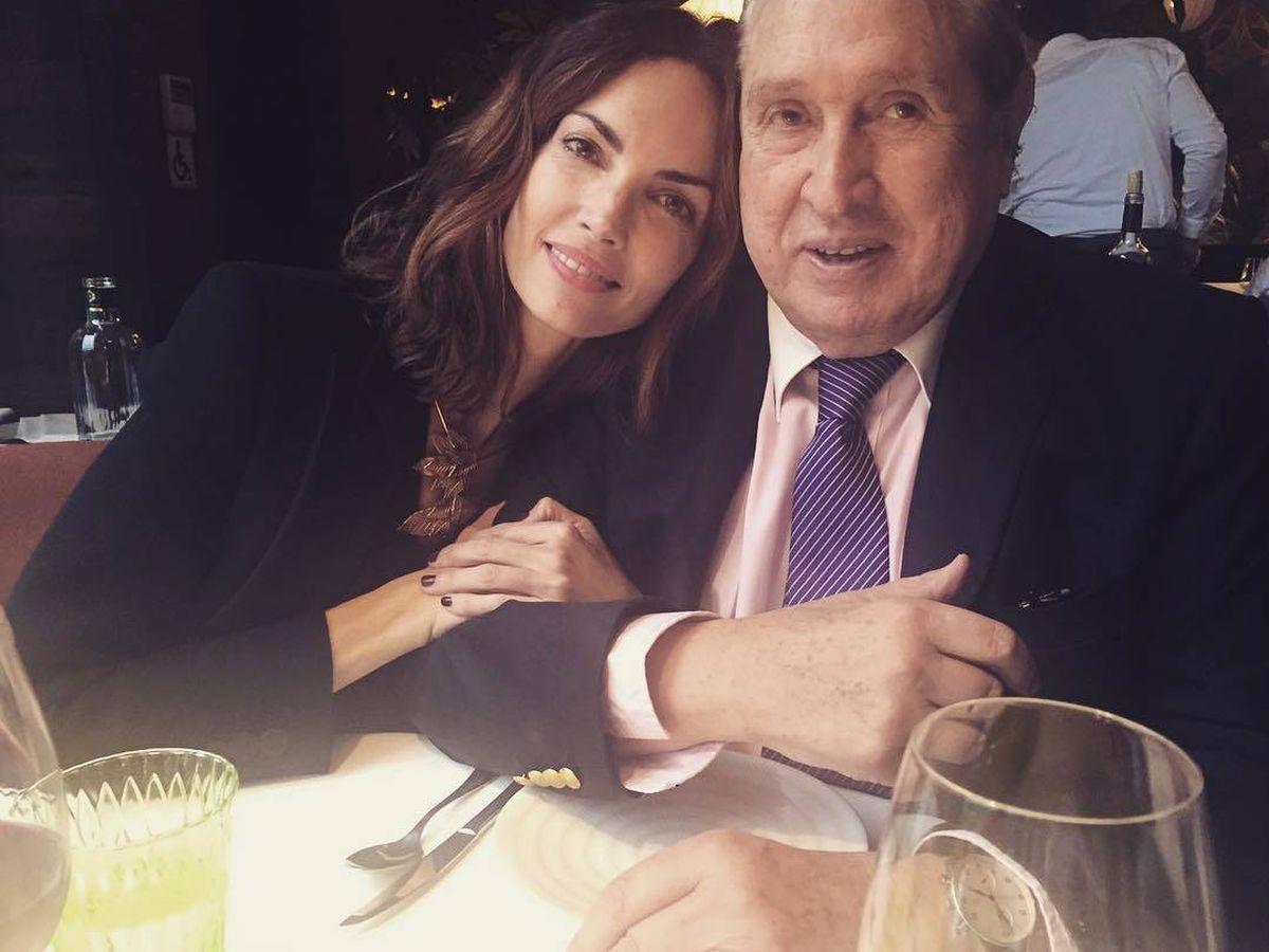 Foto: El empresario Joao Flores junto a Eugenia Silva. (IG)