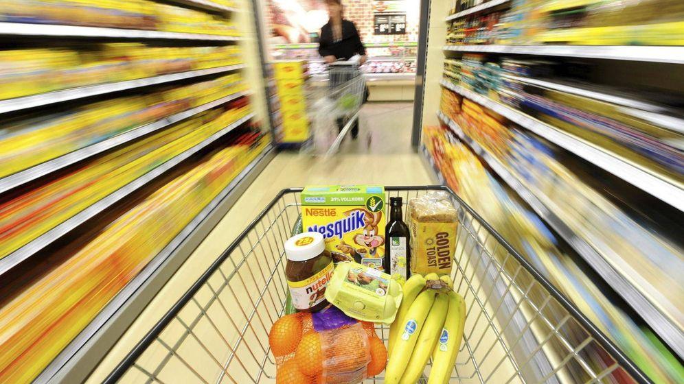 Foto: Carro de la compra de un supermercado.