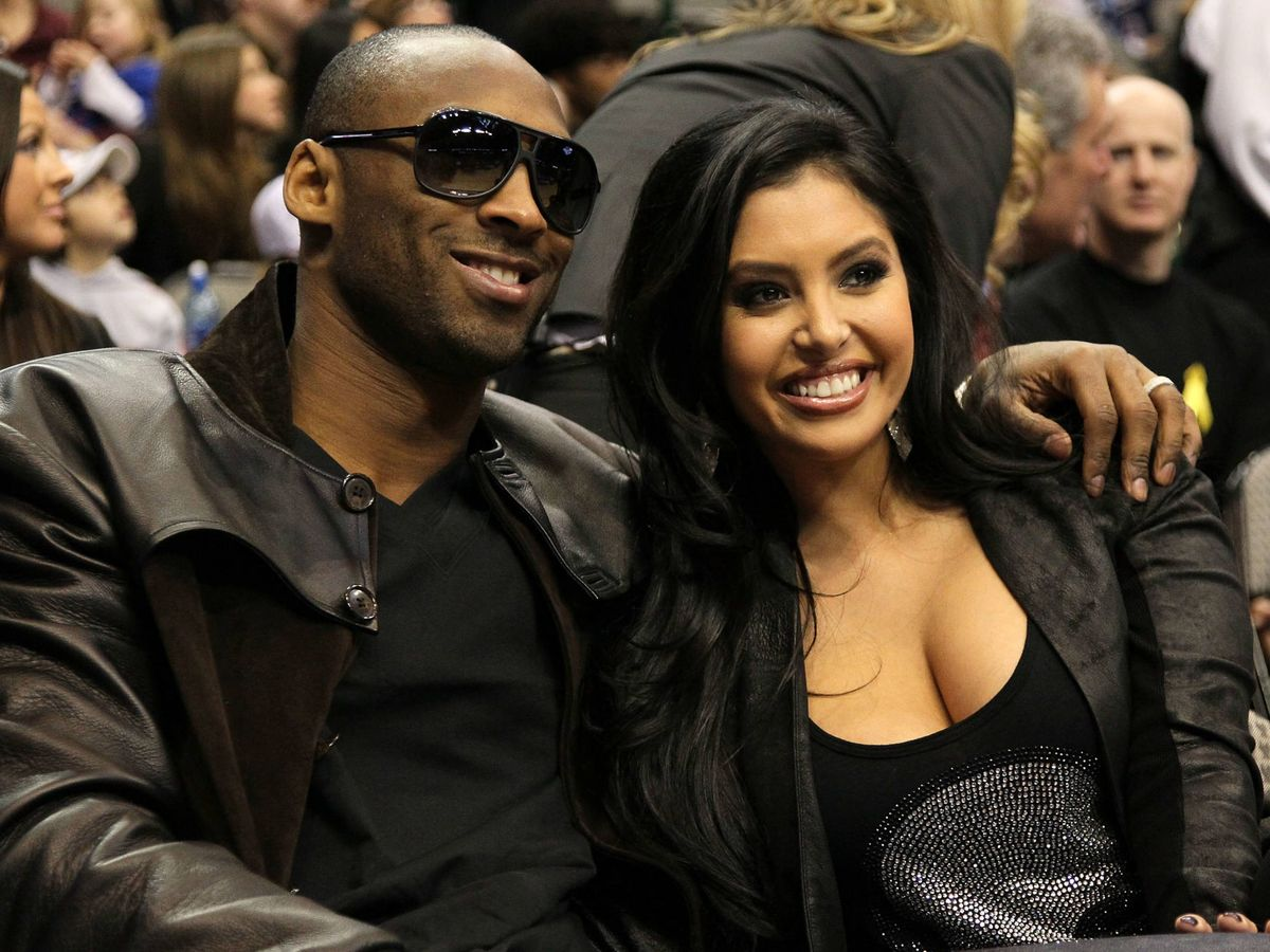 Foto:  Kobe y Vanessa Bryant. (Getty)